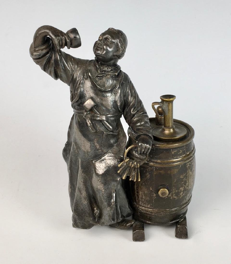 W.M.F German Rare & Unusual Figural Cigar Lighter