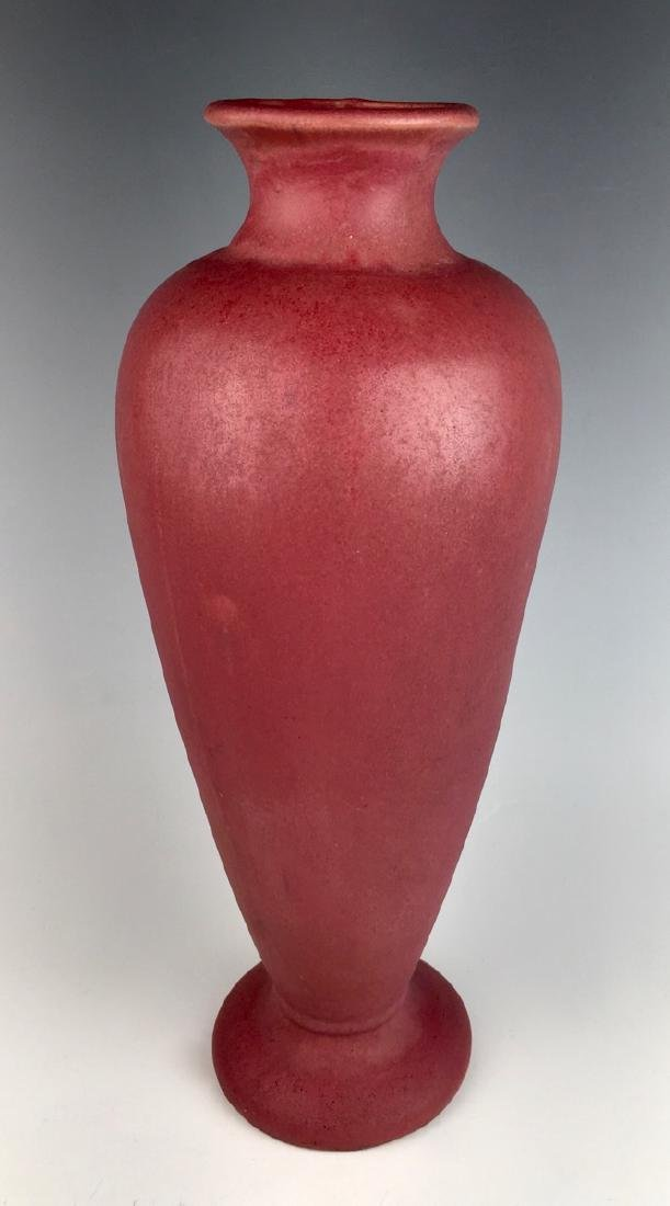 Fulper Tall Plum Vase