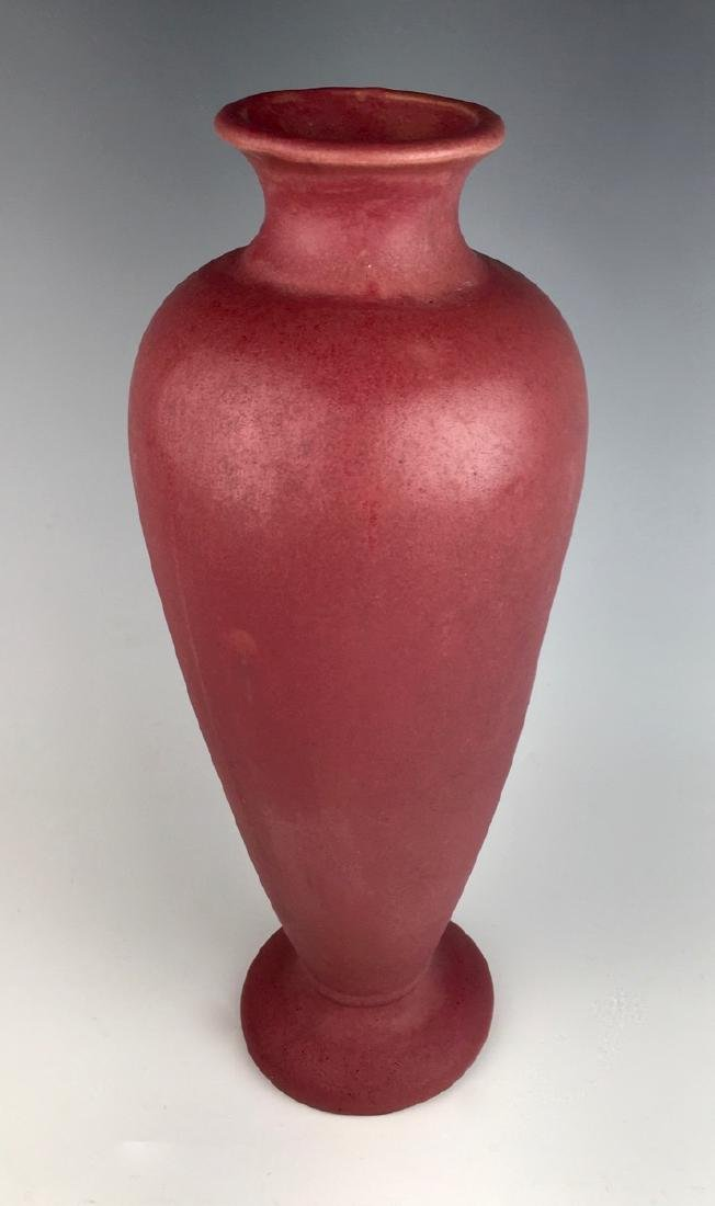 Fulper Tall Plum Vase - 2