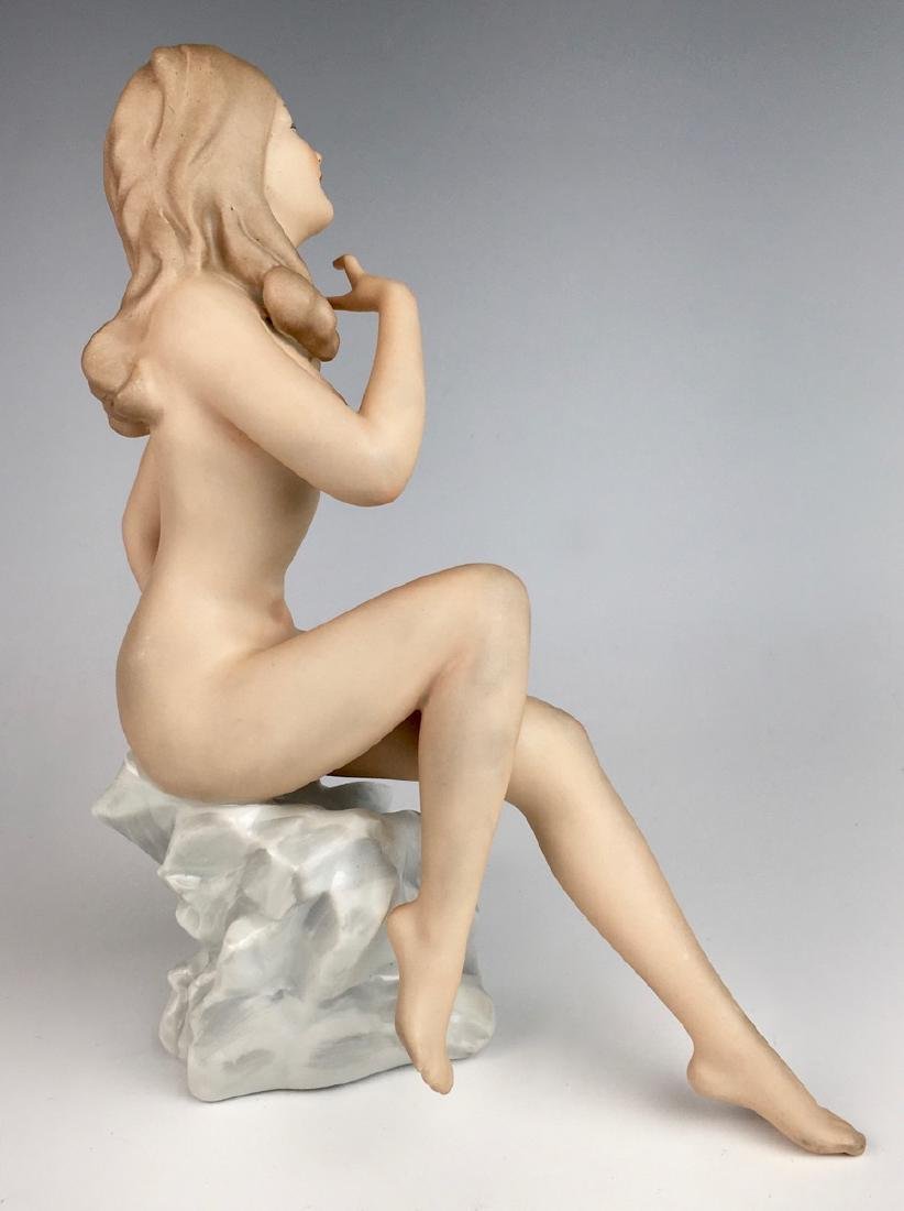 Nude Bisque Lady Figurine by Wallendorf - 2