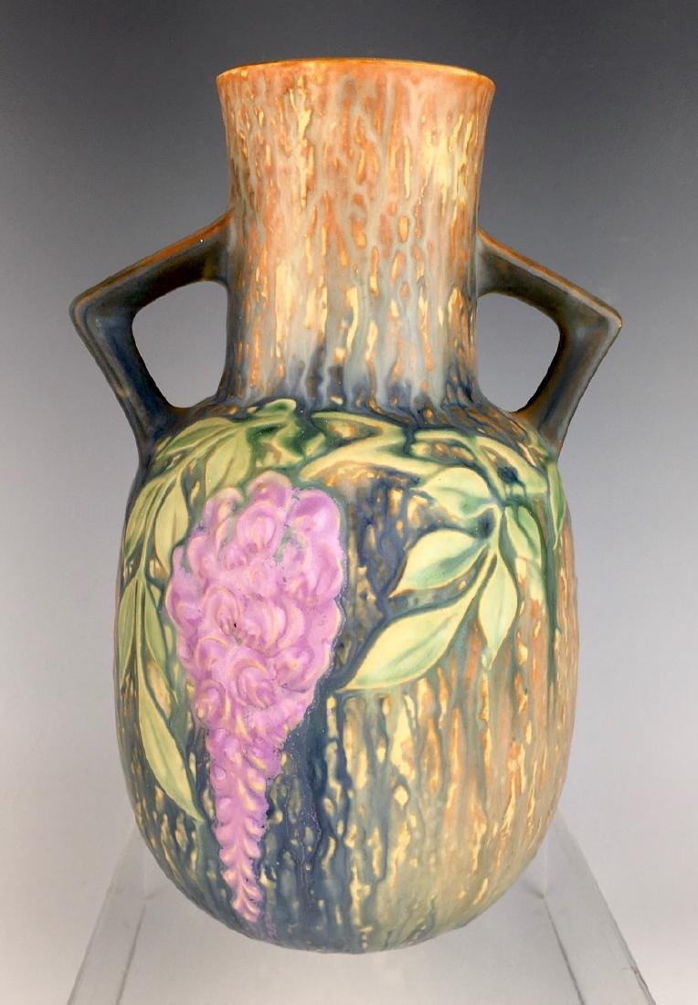 Roseville Blue Wisteria Vase