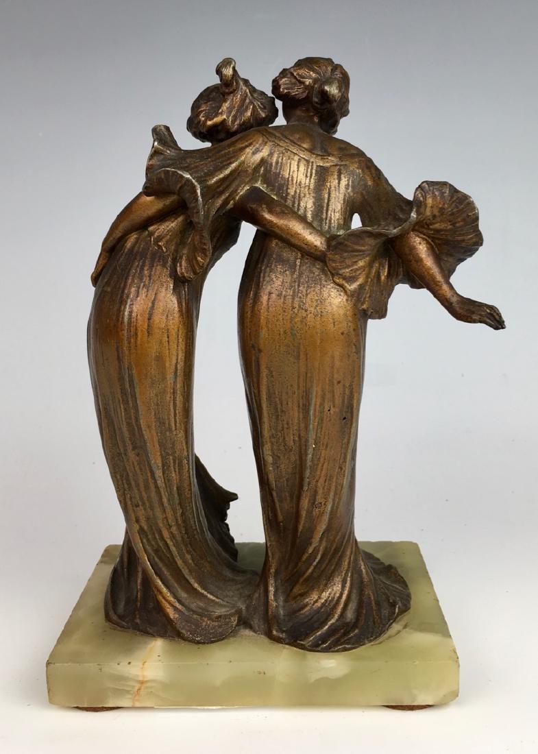 Lucien Charles Alliot Art Nouveau Sculpture - 2