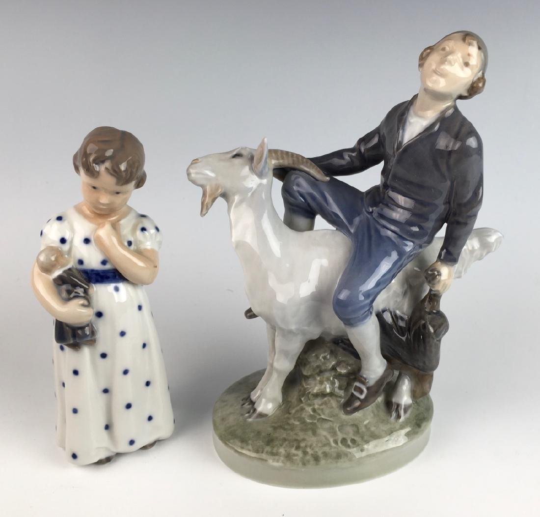 Royal Copenhagen 2 Porcelain Figurines