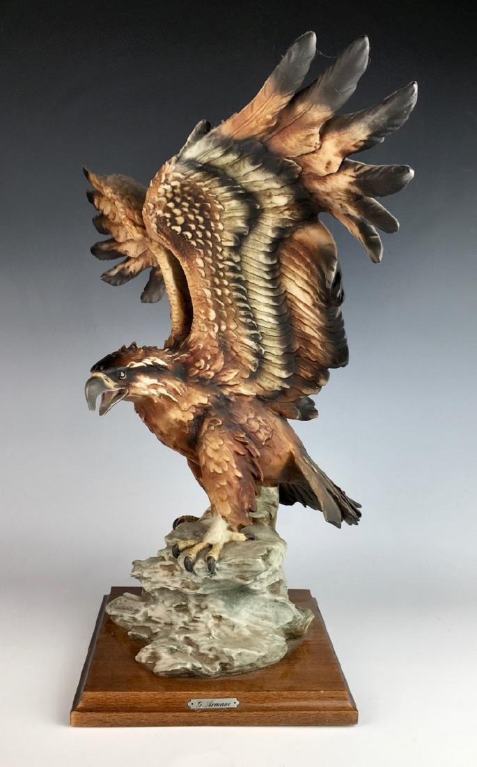 Armani Resin Eagle Statue - 2