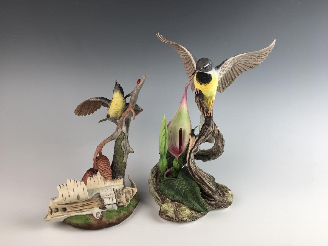 Two Boehm Bisque Figural Groups of Birds - 3