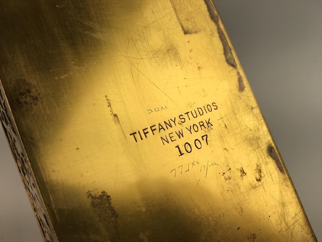 Tiffany Studios New York Grapevine Letter Rack - 5