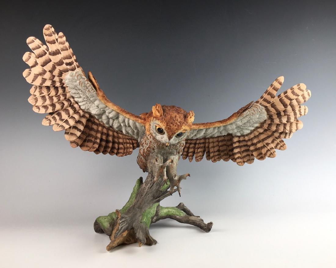Boehm Limited Edition Screech Owl