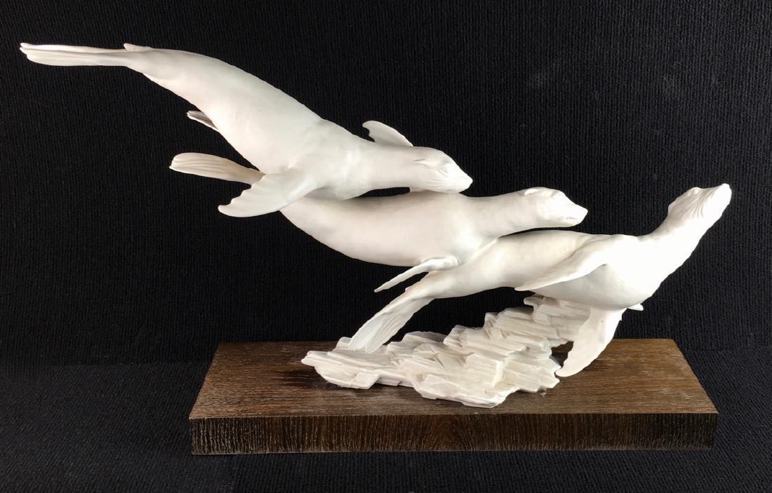 """Hutschenreuther """"Sea Frolic"""" Bisque Figurine"""