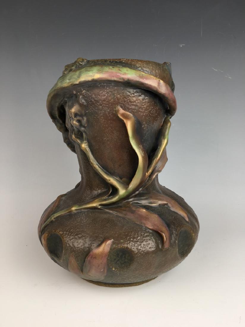 Amphora Art Nouveau Quail Vase - 4