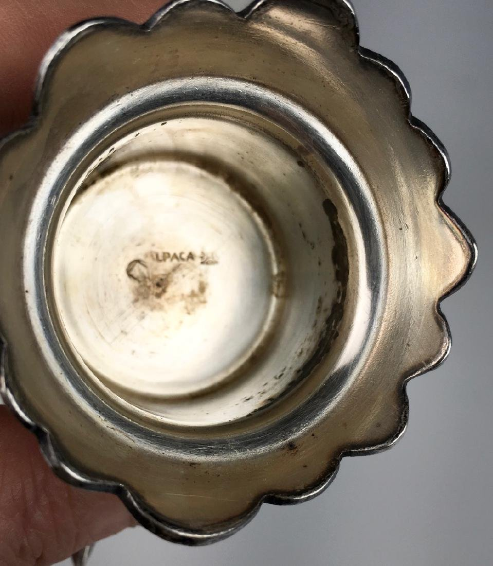 Silverplated Bird Decanter C. 1920 - 5
