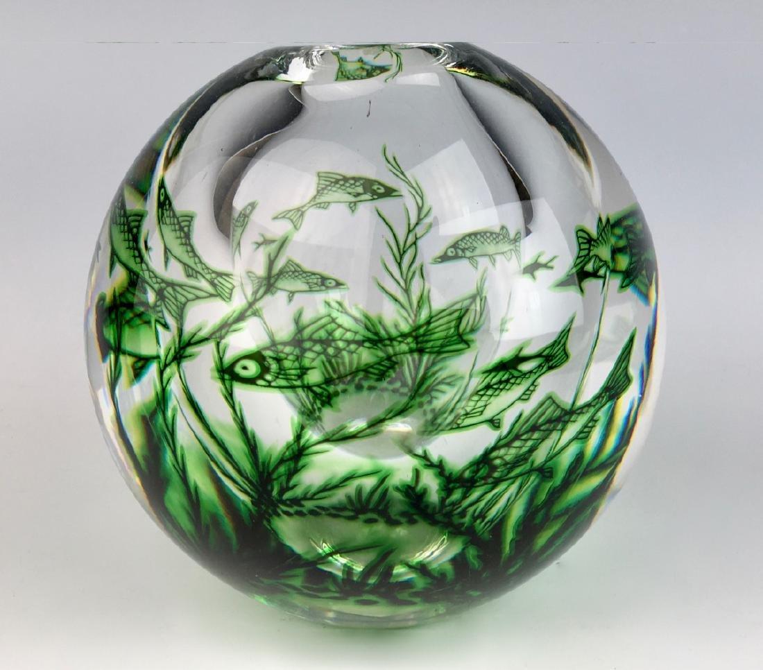 Edward Hald Orrefors Graal Vase