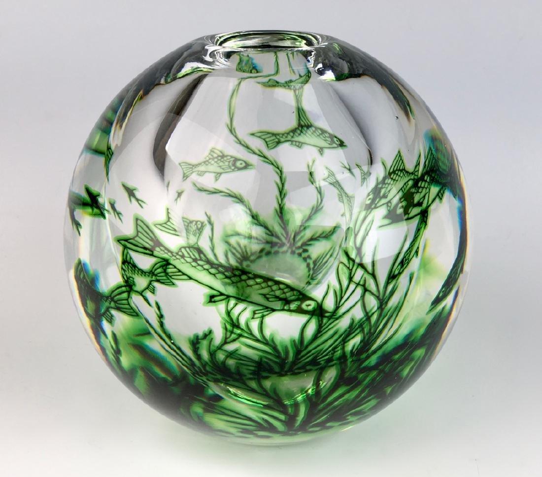 Edward Hald Orrefors Graal Vase - 2