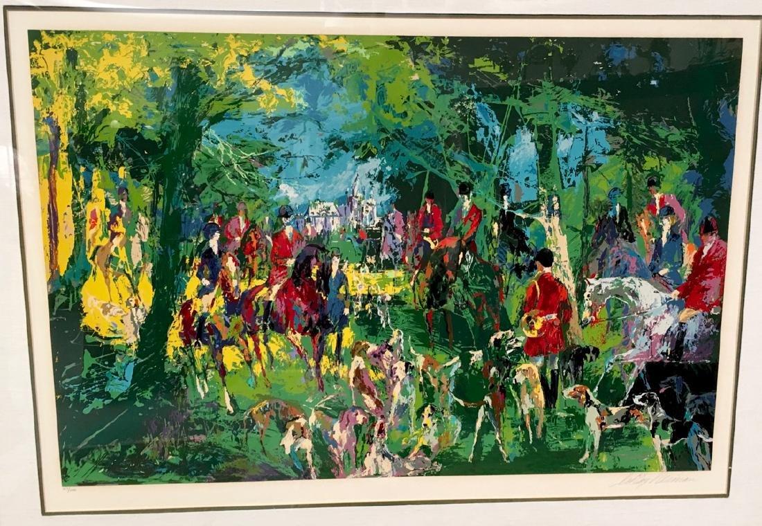 "Leroy Neiman ""Chateau Hunt"" Serigraph 1979 - 2"