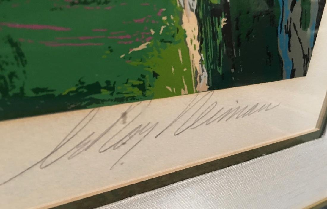 "Leroy Neiman ""Chateau Hunt"" Serigraph 1979 - 4"