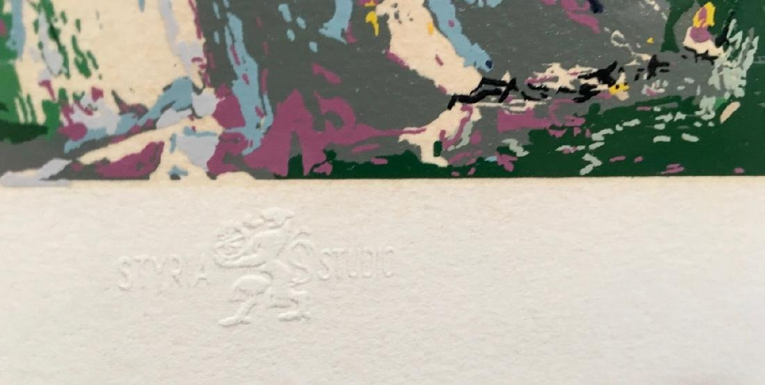 "Leroy Neiman ""Chateau Hunt"" Serigraph 1979 - 5"