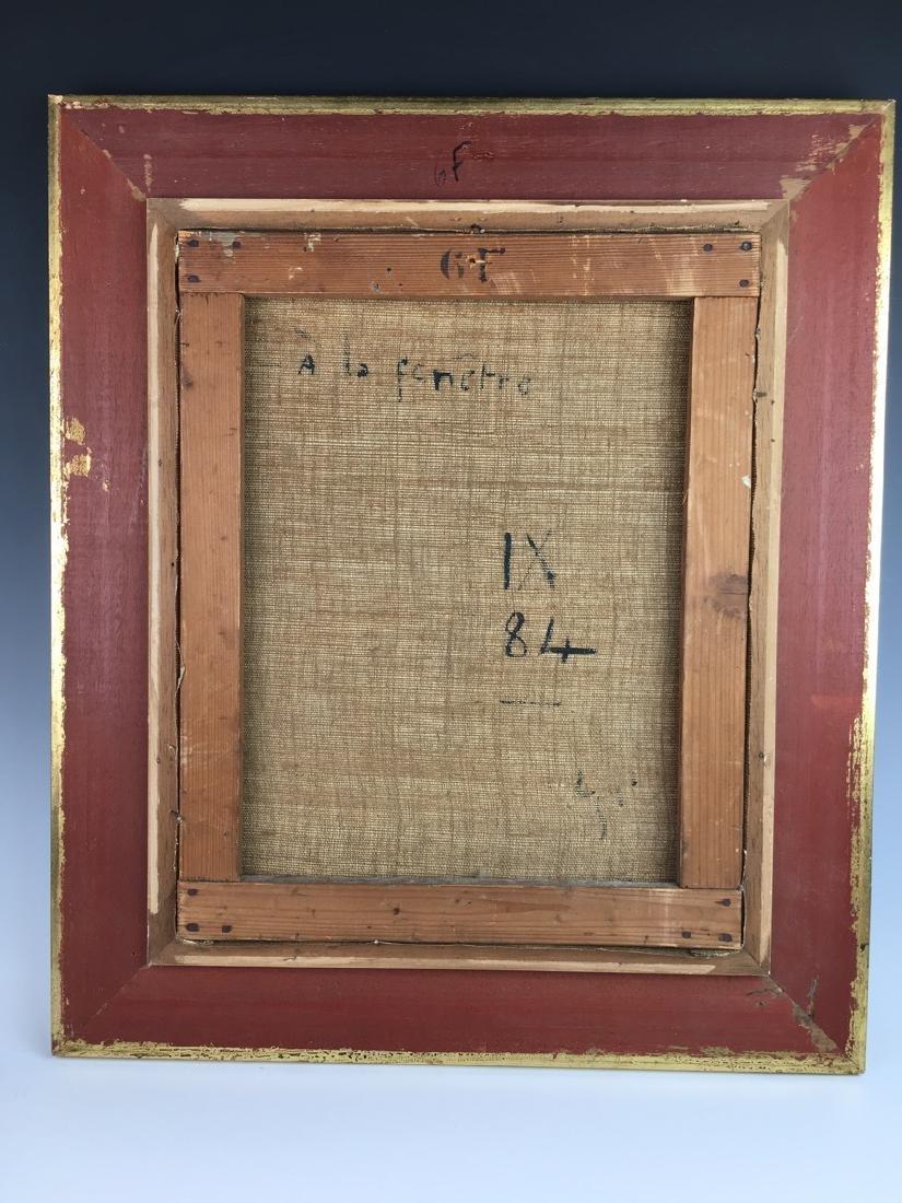 """Louis Icart (1888-1950) """"In the Window"""" Original - 4"""