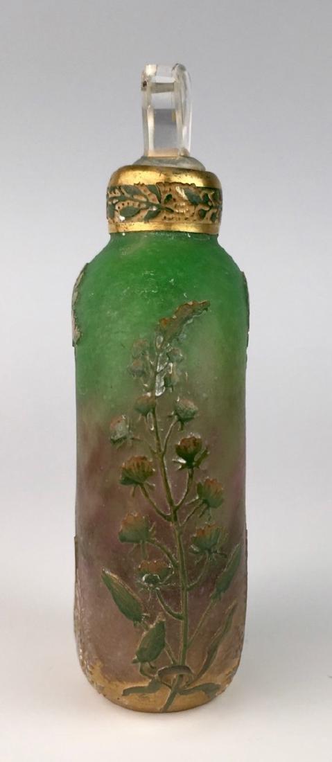 Rare Daum Nancy Cameo Perfume Flask - 6