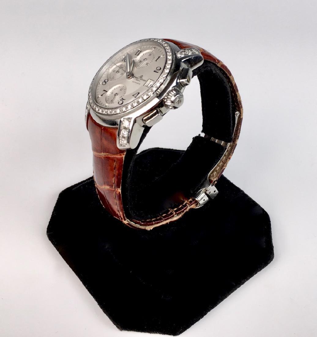 Baume & Mercierss Automatic Stainless & Diamonds - 2