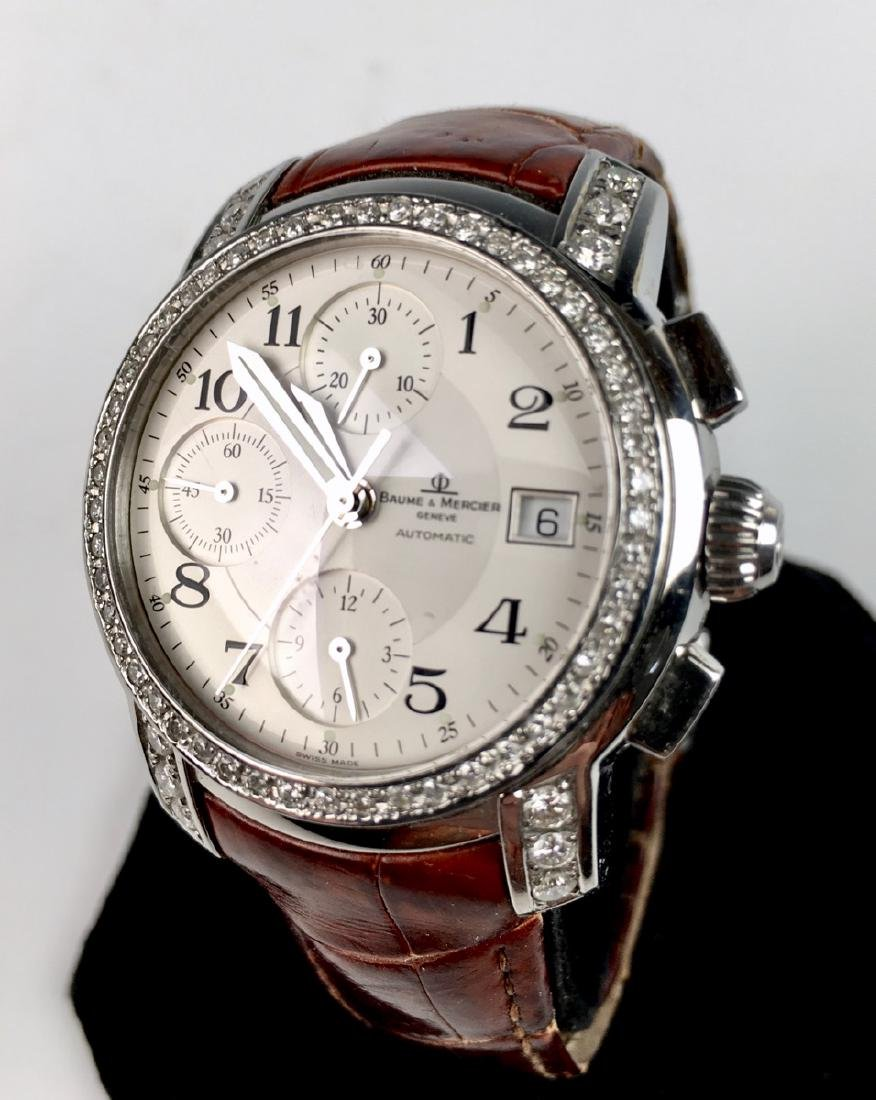 Baume & Mercierss Automatic Stainless & Diamonds - 3