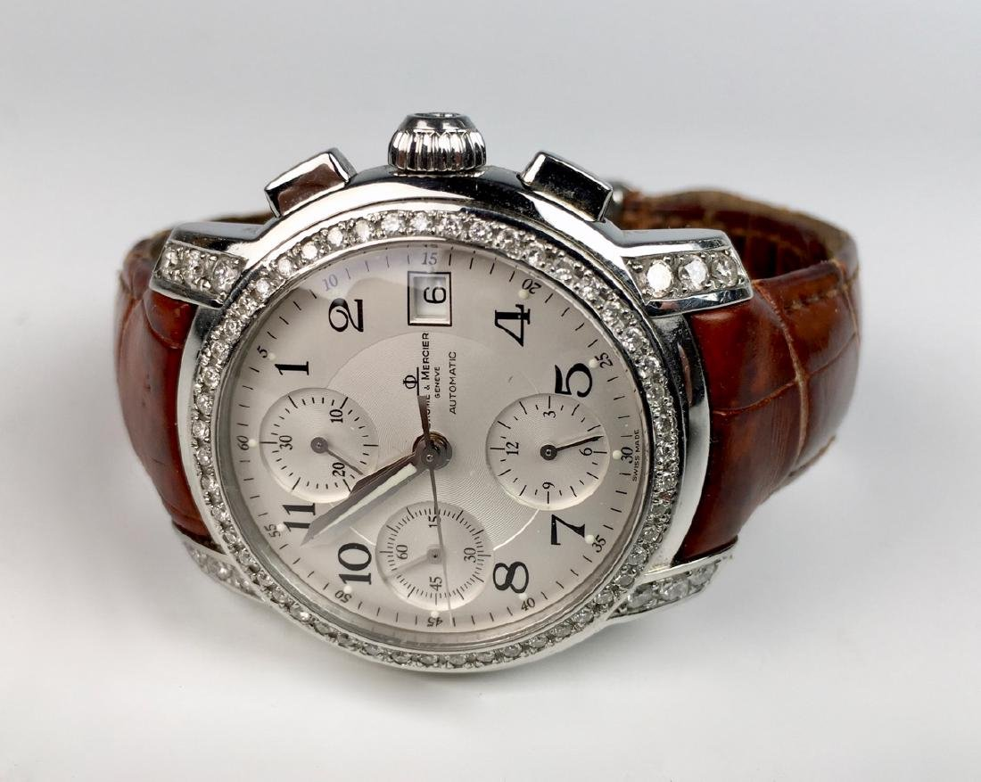 Baume & Mercierss Automatic Stainless & Diamonds - 6