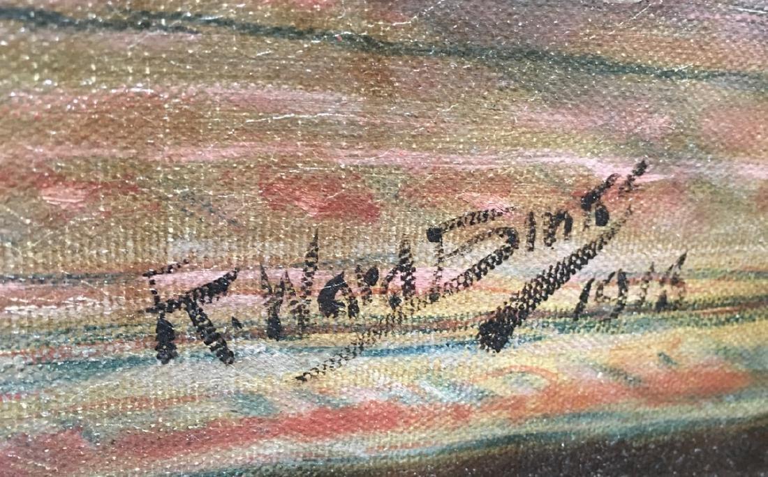 "Reuben Ward Binks (Br 1880-1950) ""Two Bulldogs"" - 5"