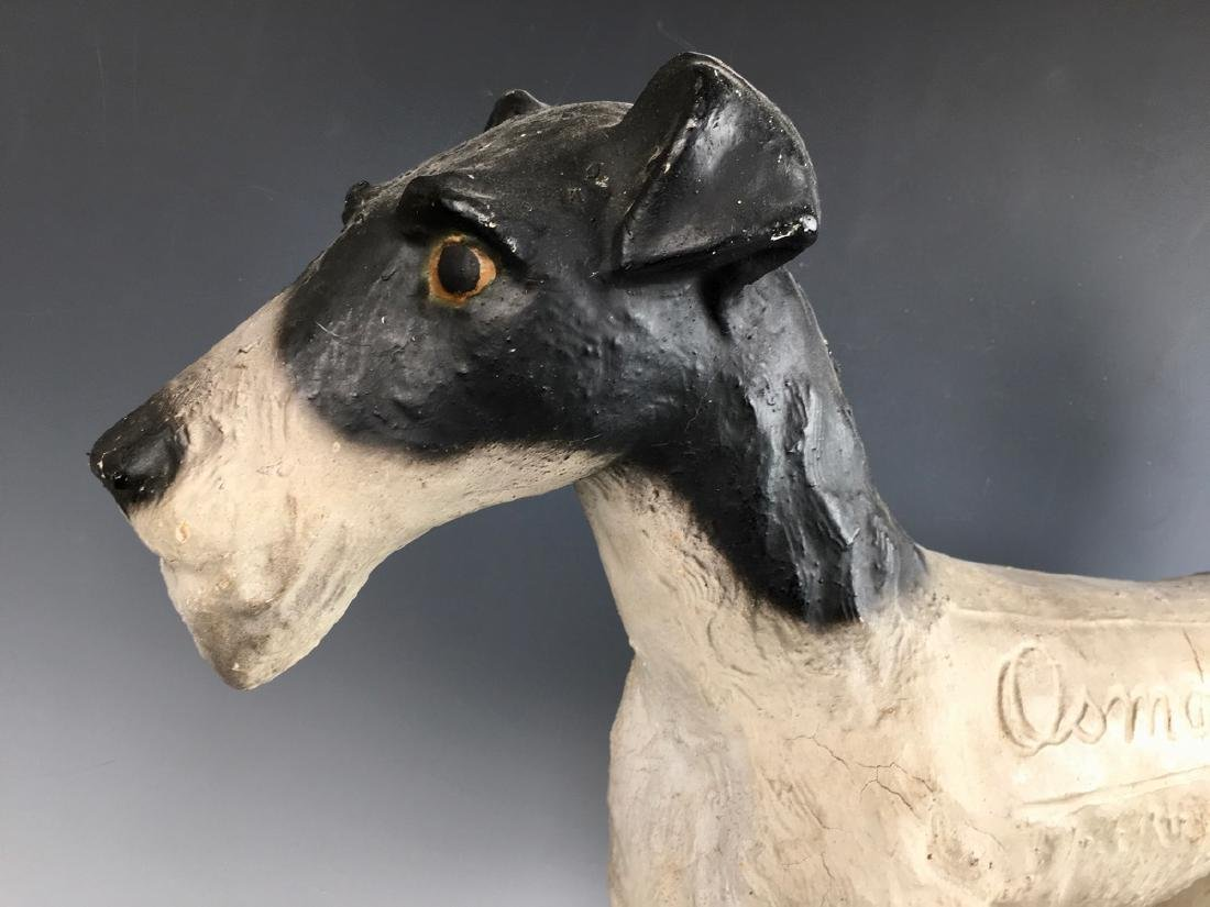 """Osmond"" Fox Terrier Advertising Figure - 4"