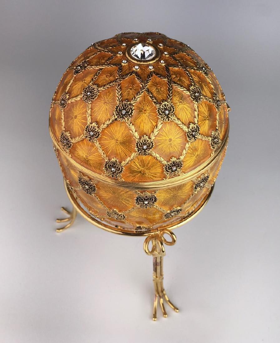 Large Russian Faberge Style Coronation Egg - 2