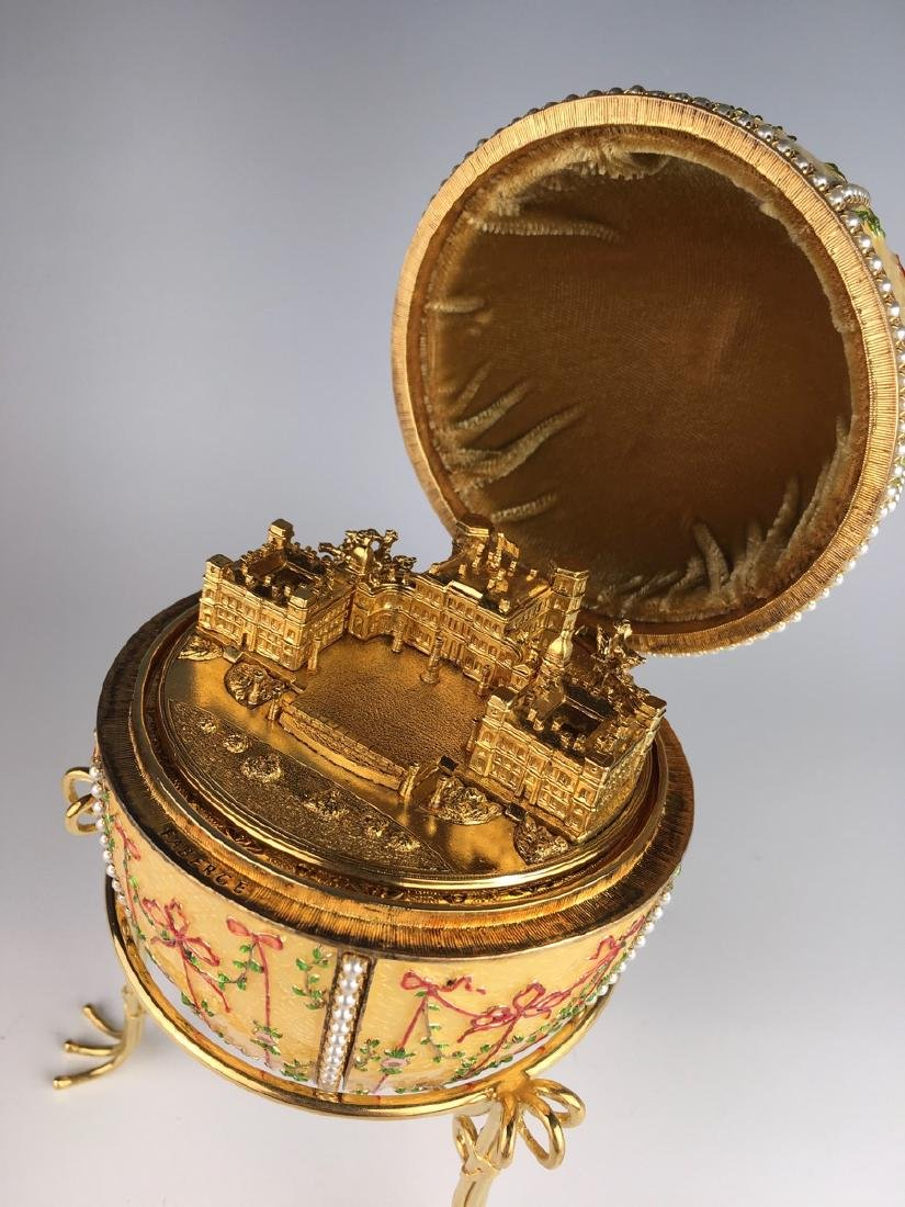 Large Russian Faberge Style Egg - 4