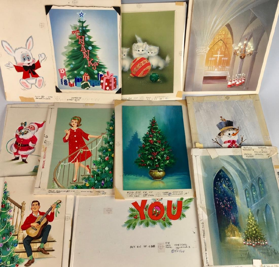 26 Original Greeting Card Art - 3