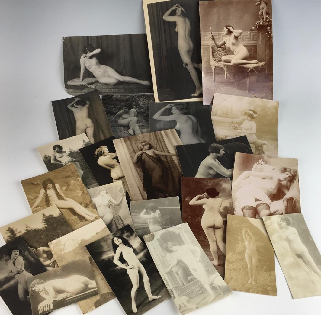 Collection of 24 Nude Photos C. 1920