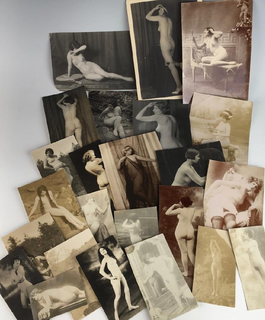 Collection of 24 Nude Photos C. 1920 - 2