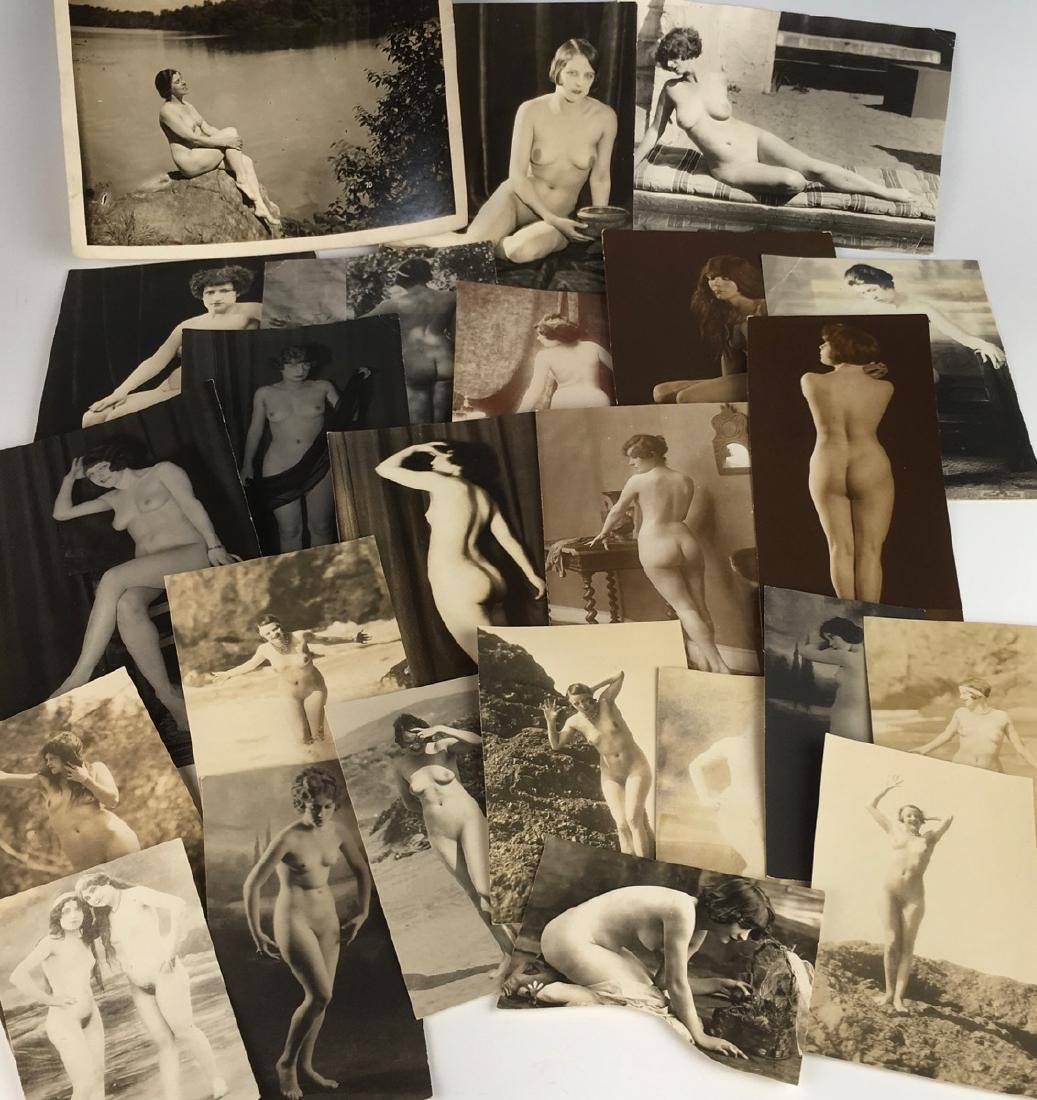 C. 1920 Collection of 24 Nude Photos