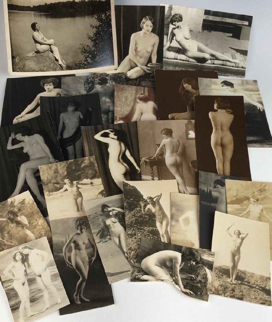 C. 1920 Collection of 24 Nude Photos - 2