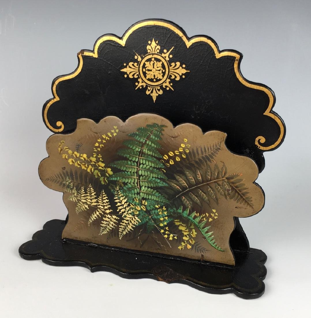 3 Japanese Lacquerware Items C. 1900 - 7
