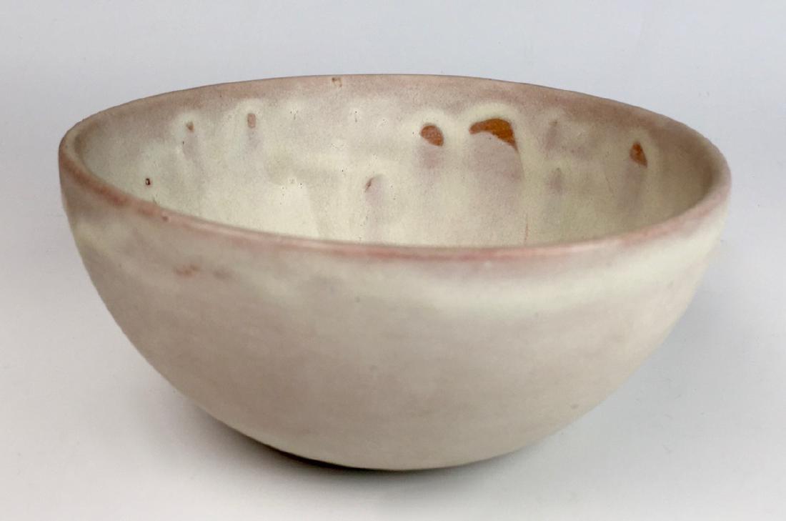 Signed Natzler Art Pottery Bowl