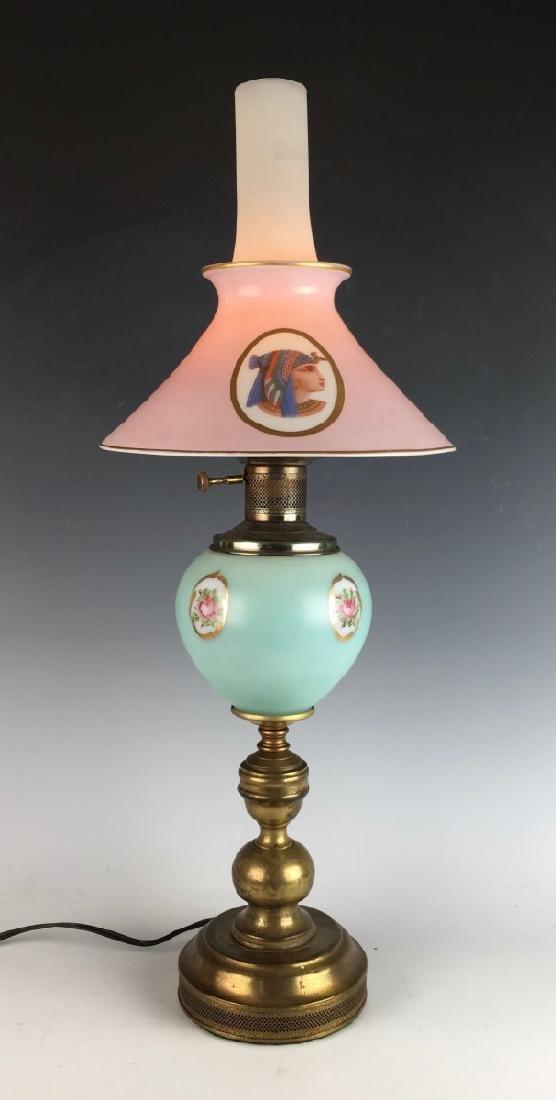 Egyptian Motif Lamp Circa 1930