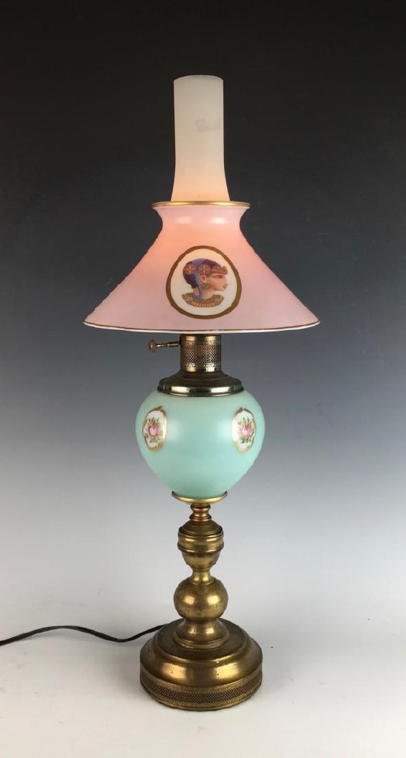 Egyptian Motif Lamp Circa 1930 - 3