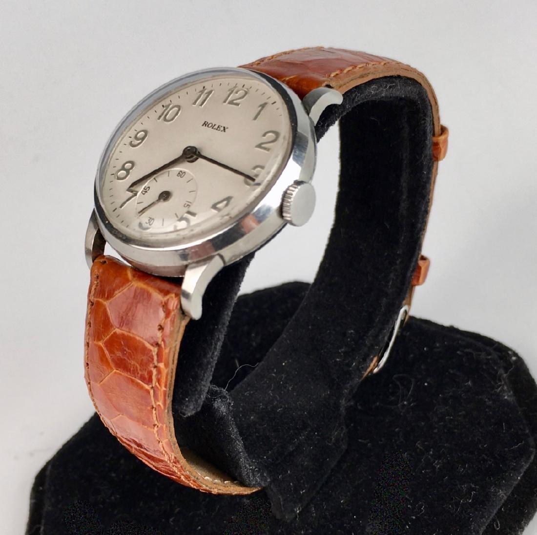 Rolex Stainless Steel 17 Jewels Wrist Watch - 2