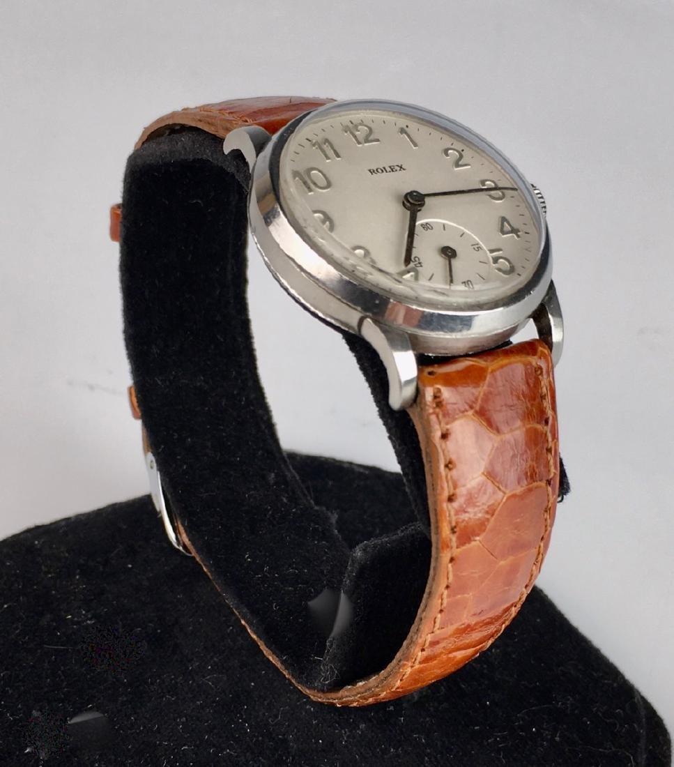 Rolex Stainless Steel 17 Jewels Wrist Watch - 3