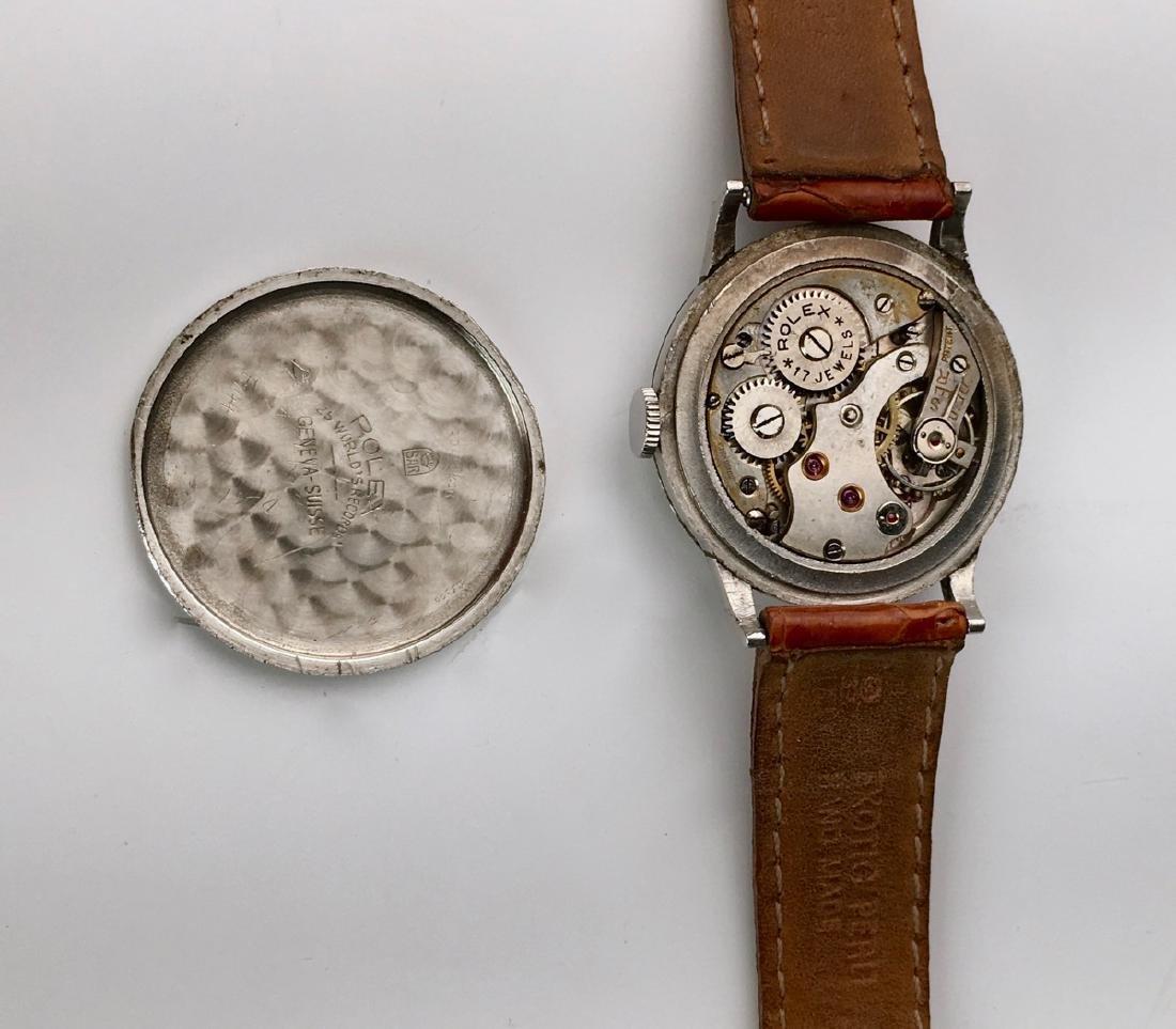Rolex Stainless Steel 17 Jewels Wrist Watch - 5