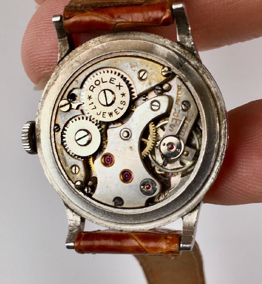 Rolex Stainless Steel 17 Jewels Wrist Watch - 6