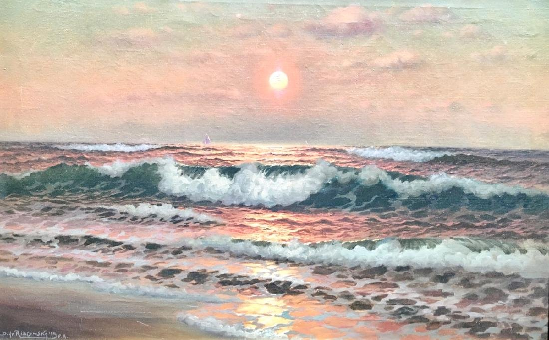 Richard Dey de Ribcowsky Seascape - 2