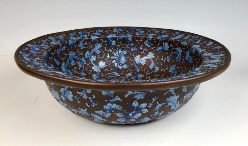 Early Chinese Yixing Pottery Bowl