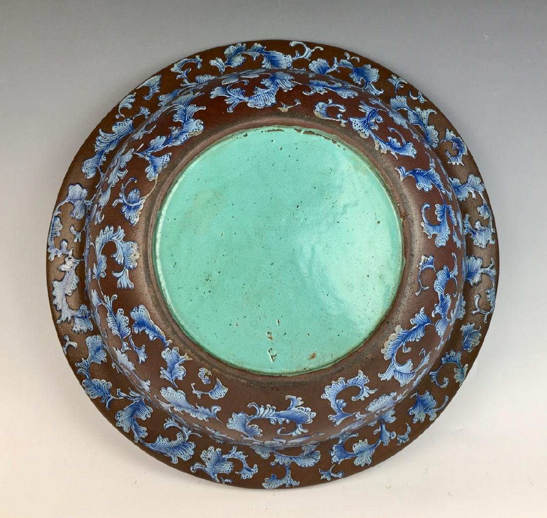 Early Chinese Yixing Pottery Bowl - 3