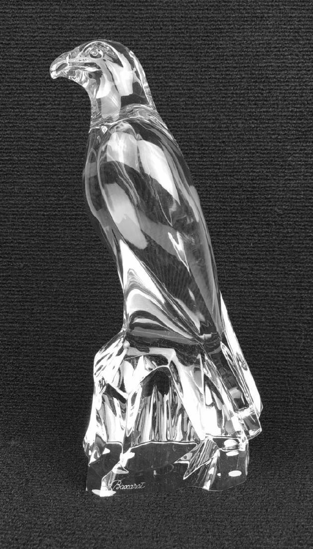 "Baccarat Crystal ""Falcon"""