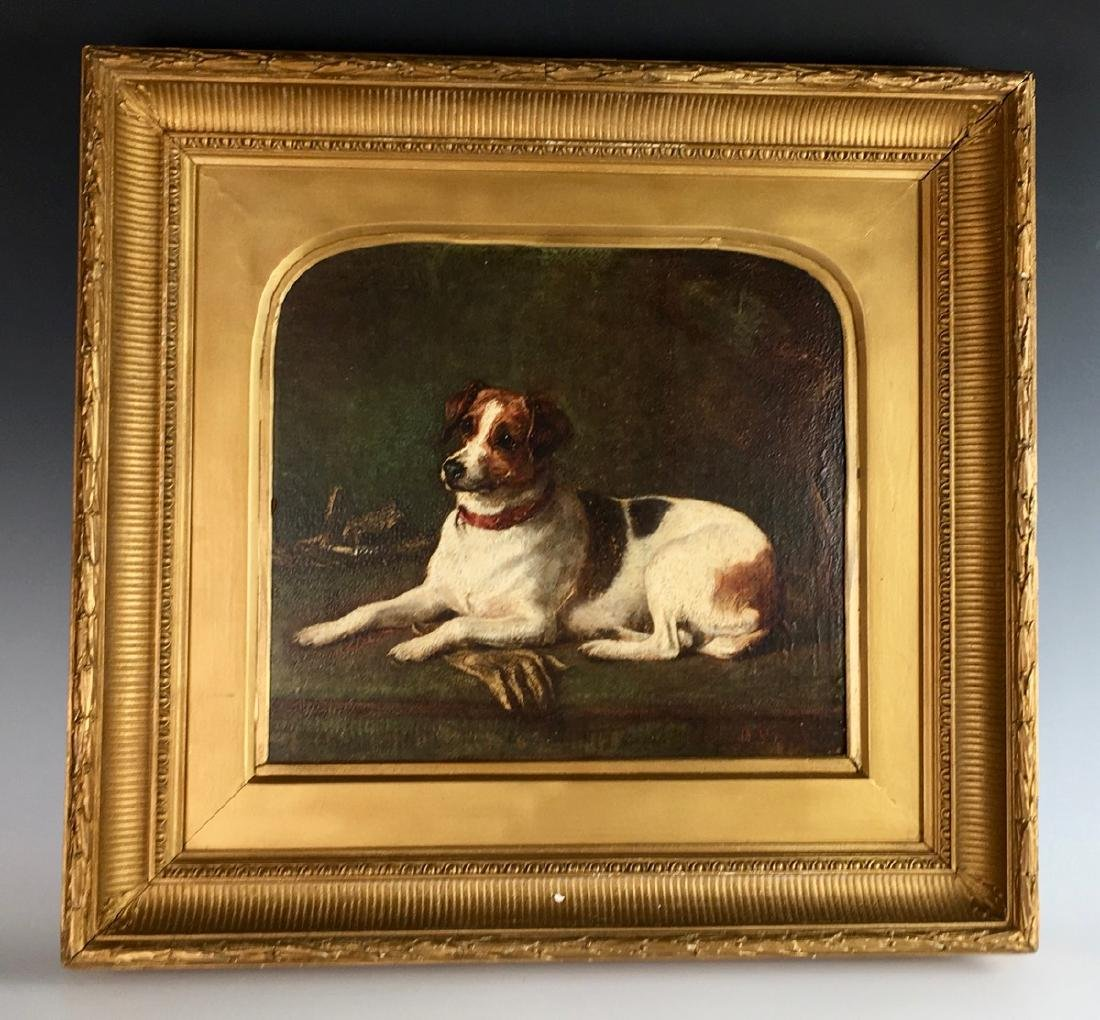 Gourlay Steell Jack Russell Terrier Painting