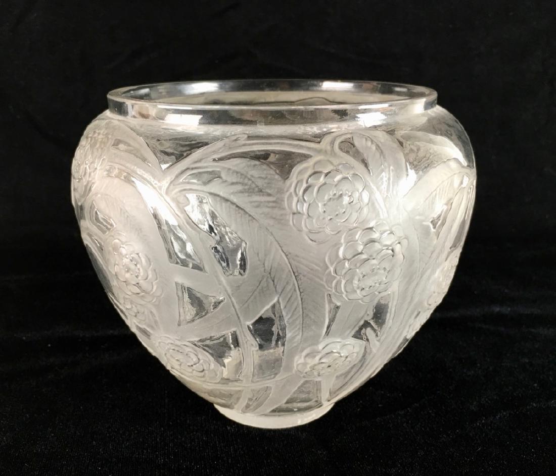 """R. Lalique (1860-1945) """"Medlar"""" Vase - 2"""
