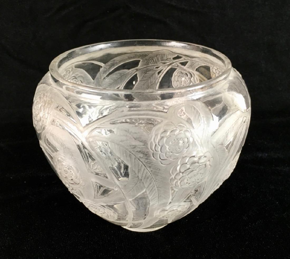 """R. Lalique (1860-1945) """"Medlar"""" Vase - 3"""