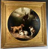 George Armfield (1840-1875) Group of 5 Dogs