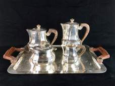 Christofle Silver Plated Coffee & Tea Service